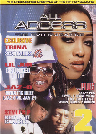ALL ACCESS HIP HOP - Uncensored Lifestyle Vol 2 - DVD