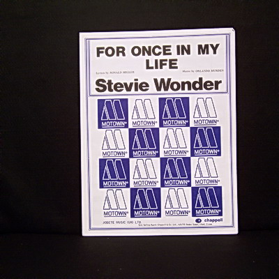 WONDER STEVIE - For Once In My Life - Autres
