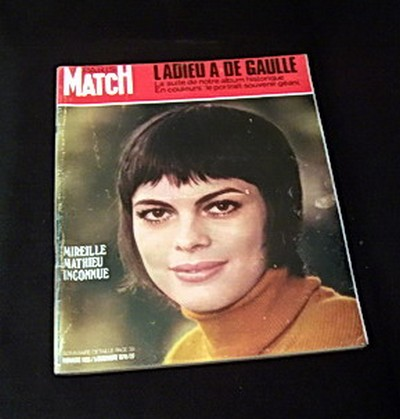 MIREILLE MATHIEU - Paris Match 1970 - Magazine