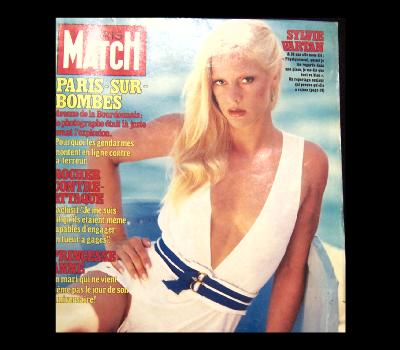 VARTAN SYLVIE - Paris Match Sept 3 1982! - Magazine