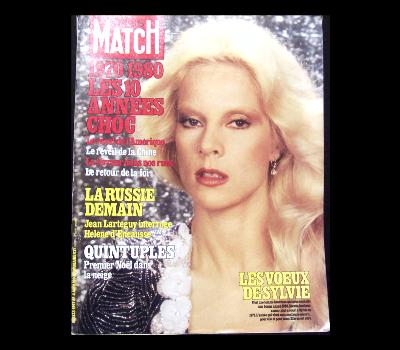 VARTAN SYLVIE - Paris Match Jan 4 1980! - Magazine