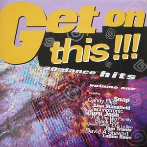 808 State - Snap - Get On This Volume 1 (Vinyl!)