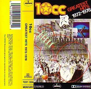 10cc - Greatest Hits 1972-1978 (Cassette!)