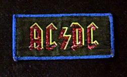Ac-Dc - Sew On Cloth Patch