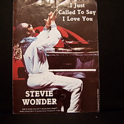 WONDER STEVIE - I Just Called To Say - Others
