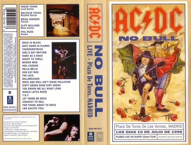 Ac-Dc - No Bull Live In Spain