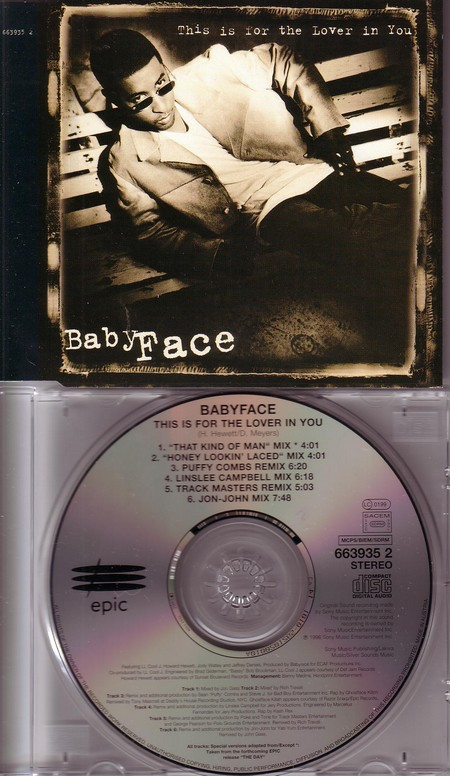 BabyFace - This Is For The Lover