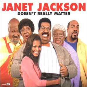JACKSON JANET - Doesnt Really Matter - CD single