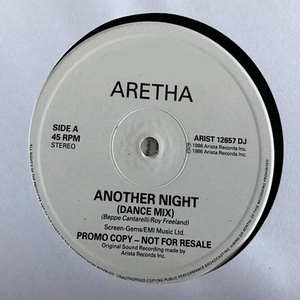 Aretha - Another Night PROMO (Vinyl!)