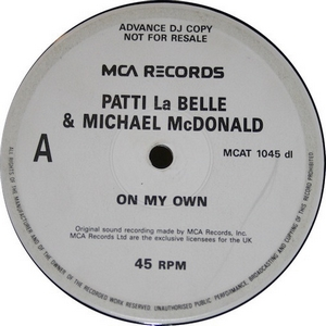 Labelle - McDonald - On My Own PROMO (Vinyl!)