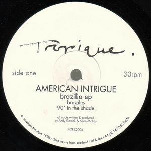 American Intrigue - Brazilia EP (Vinyl!)
