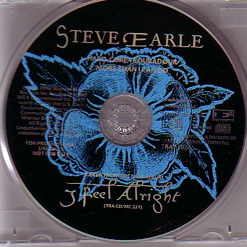 Earle Steve - Feel Alright Pic Disc PROMO