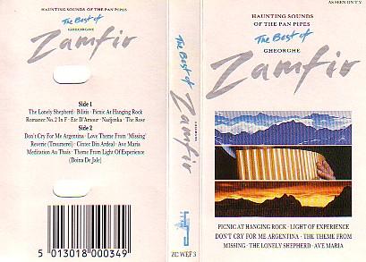 Zamfir Gheorghe - Best Of Zamfir (Cassette!)