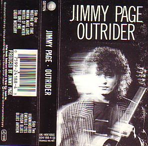 Page Jimmy - Outrider (Cassette!)