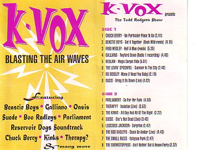Beastie Boy Plus! - Blasting The Air Waves (Cassette!)