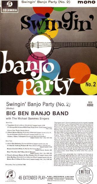 Big Ben Banjo Band - Swingin Banjo Party 2 (Vinyl!)