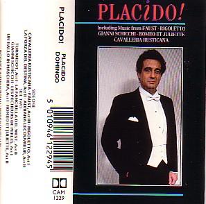 Domingo Placido - Placido (Cassette!)