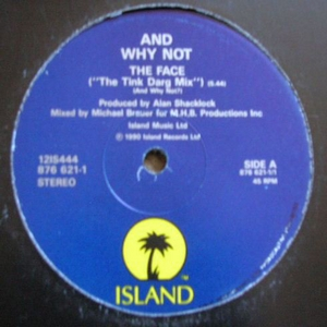 And Why Not - The Face Tink Darg Mix (Vinyl!)