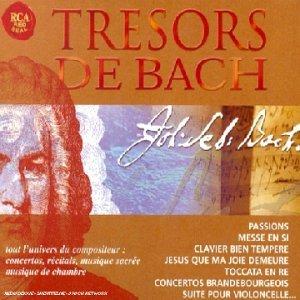 Bach Johann Sebastian - Tresors De Bach