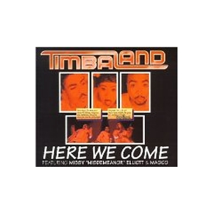 TIMBALAND - Here We Come - CD single