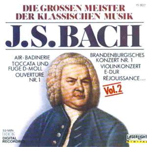 Bach Johann Sebastian - Masters Classic Music Vol 2