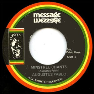 Augustus Pablo - Minstrel Chants (Jamaica (Vinyl!))