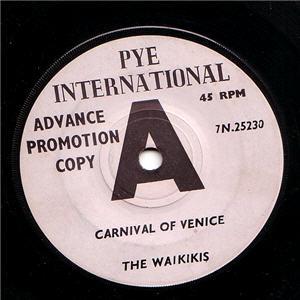 Waikikis - Carnival Of Venice DEMO (Vinyl!)