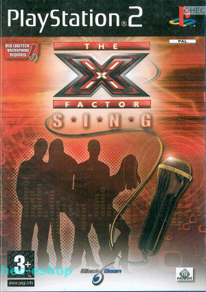 X Factor - X Factor Sing Ps2 (Video Game!)