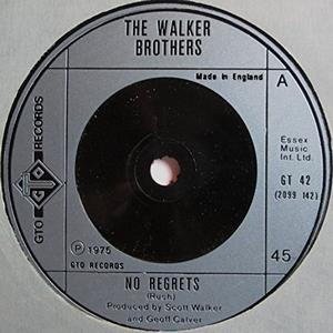 Walker Brothers - No Regrets (Vinyl!)