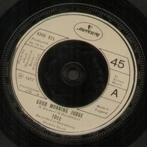 10cc - Good Morning Judge (Vinyl!)