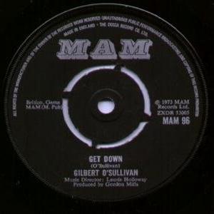 O'sullivan Gilbert - Get Down (Vinyl!)