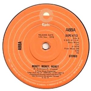 Abba - Money Money Money DEMO (Vinyl!)