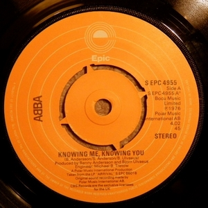 Abba - Knowing Me Knowing You Prong (Vinyl!)