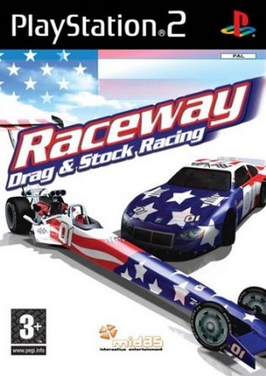 Raceway - Drag And Stock Racing Ps2 (Video Game!)