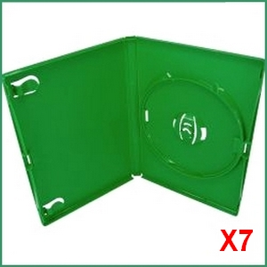 Xbox Replacement Case - 7 Xbox DVD Replacement Cases