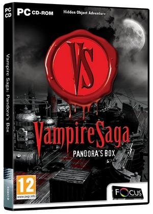 Vampire Saga - Pandoras Box (Pc (Video Game!))