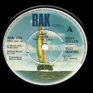 Quatro Suzi - Roxy Roller DEMO (Vinyl!)
