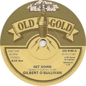 O'sullivan Gilbert - Get Down - Nothing Rhymed (Vinyl!)