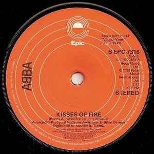 Abba - Kisses Of Fire Misprinted (Vinyl!)